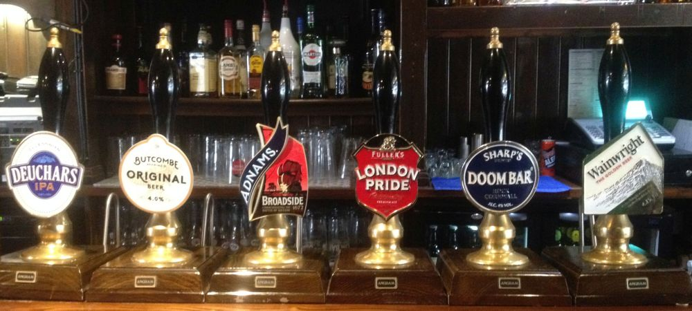 Real Ale at The Lichfield Vaults Pub, Hereford